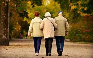 В каком возрасте женщина выходит на пенсию