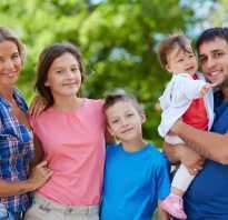 3 ребенок в семье что положено